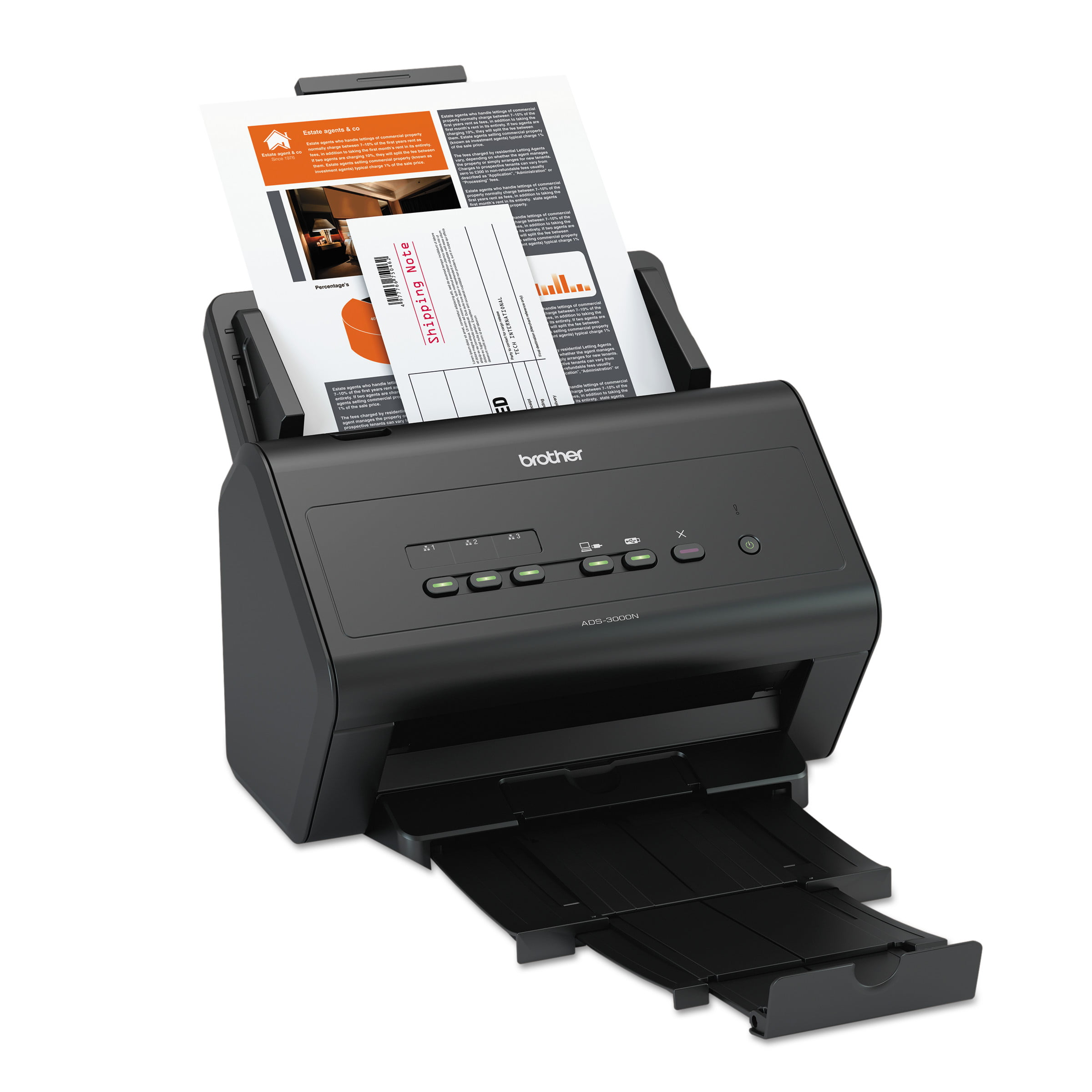 Brother IMageCenter ADS-3000N High-Speed Network Document Scanner by BROTHER INTL. CORP.