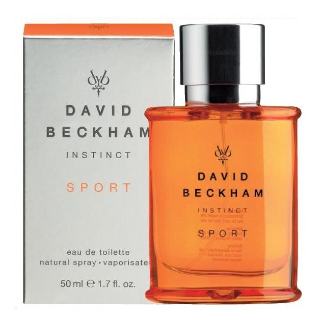 INSTINCT SPORT David Beckham MEN 1.7 oz eau de toilette Spray Cologne NIB New