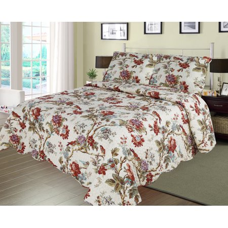 - patch magic Finch Orchard -twin quilt size -super throw
