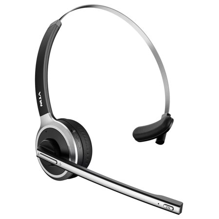 Vtin Professional Over-the-Head Bluetooth Wireless Headset for Drivers, Lightweight and Hands Free with Built-in