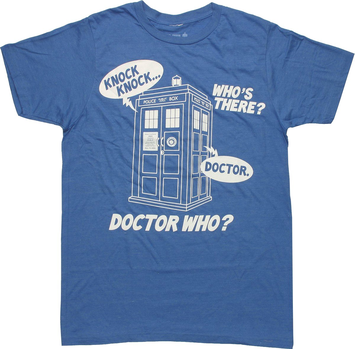 Knock T Shirt Sheer Doctor Joke Who 2I9WHED