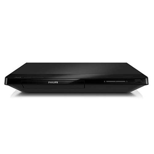Refurbished Philips Blu-ray Disc Player - DIVX+ HD, Dolby TrueHD, EasyLink, BD-Live, WiFi, DVD Video Upscaling - BDP2105/F7RB