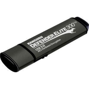 4GB DEFENDER ELITE 300 FLASH DRIVE FIPS 140-2 ENCRYPTED