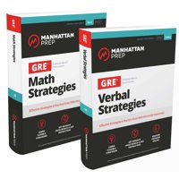 GRE Math & Verbal Strategies Set : Comprehensive Content Review & 6 Online Practice Tests from 99th Percentile Instructors