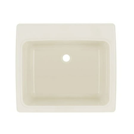 22 Laundry Sink - Swan Solid Surface 25'' x 22'' Drop-In/Undermount Laundry Sink