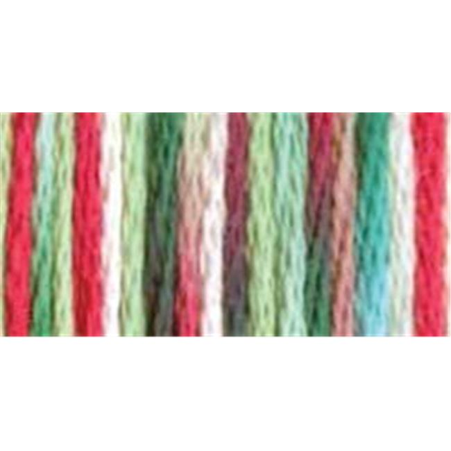 12 Pack DMC 6-Strand Embroidery Cotton 8.7yd-Blue Green