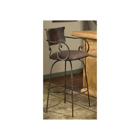 Artisan home furniture cantina swivel barstool with light brown vinyl Artisan home furniture bar stools