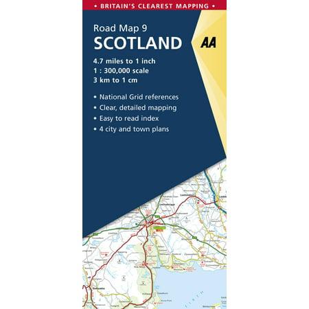 Scotland Road Map: 9780749578978 ()