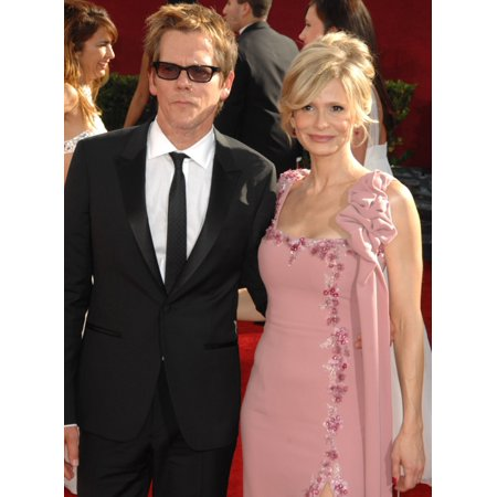 Kevin Bacon Kyra Sedgwick At Arrivals For 61St Primetime Emmy Awards - Arrivals Nokia Theatre Los Angeles Ca September 20 2009 Photo By Dee CerconeEverett Collection