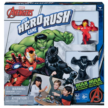 Marvel Avengers, Hero Rush Board Game for Kids, Teens, Adults, and Families ()
