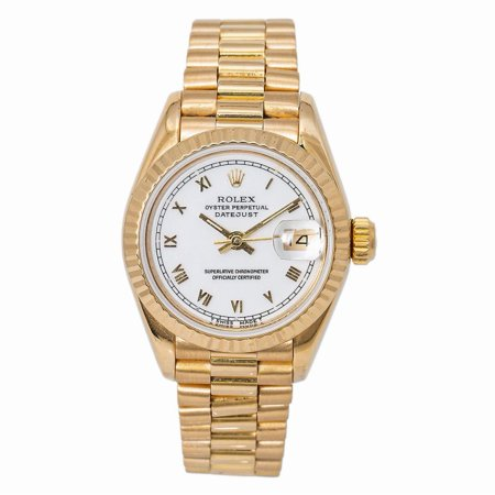 Pre-Owned Rolex Datejust 69178 Gold Women Watch (Certified Authentic & Warranty)