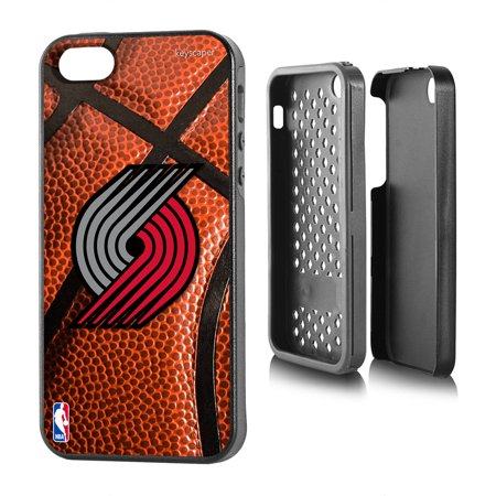 Portland Trail Blazers Basketball Design Apple iPhone 5 5S Rugged Case by Keyscaper by