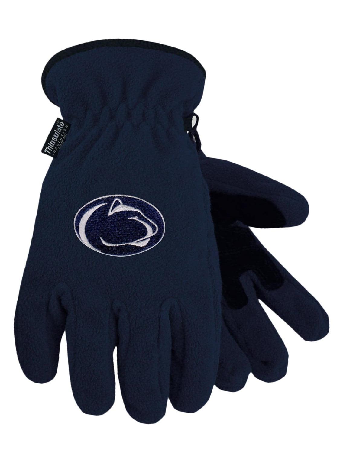 Penn State University Heavy-Weight Fleece Gloves by