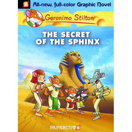 Geronimo Stilton Graphic Novels #2 : The Secret of the Sphinx - Halloween Graphic Novel