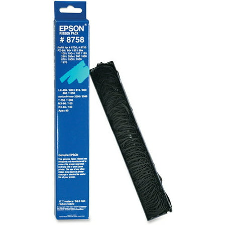Epson 8758 Ribbon Replacement Pack Ribbon Replacement Pack