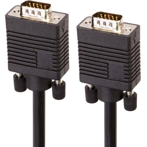 Link Depot SVGA Male to Male Cable, 6'