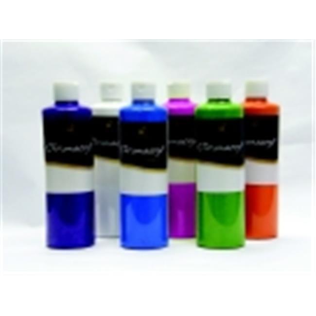 Chroma Premium Students Acrylic Paint Set - 1 Pint, Set 6