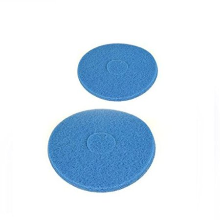 Oreck Vacuum Cleaner Orbitor, Blue Scrub Pad 2-PACK # 437057, 437-057, Part No # 437057, 437-057 By Top Vacuum Parts,USA ()