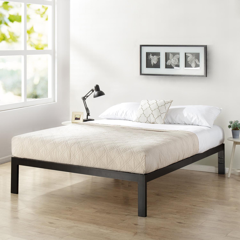 Picture of: Mainstays Metal Platform Bed Frame Multiple Sizes Walmart Com Walmart Com
