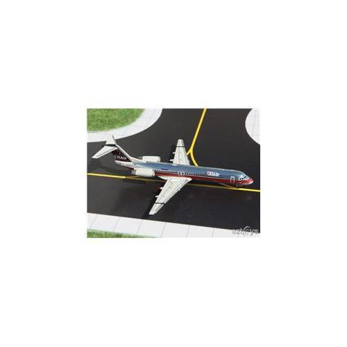 Gemini Jets 1-400 GJ105 Usair F-100 1-400 Polished Metal