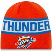Oklahoma City Thunder New Era Reverse Knit Beanie - Orange/Blue - OSFA
