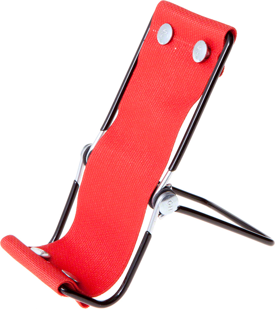 1 Gibson Holders SMS Fold & Go Smartphone Lounger, Red