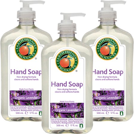 Earth Friendly Recycle Foam ((3 Pack) Earth Friendly Products Earth Friendly  Hand Soap, 17 oz )