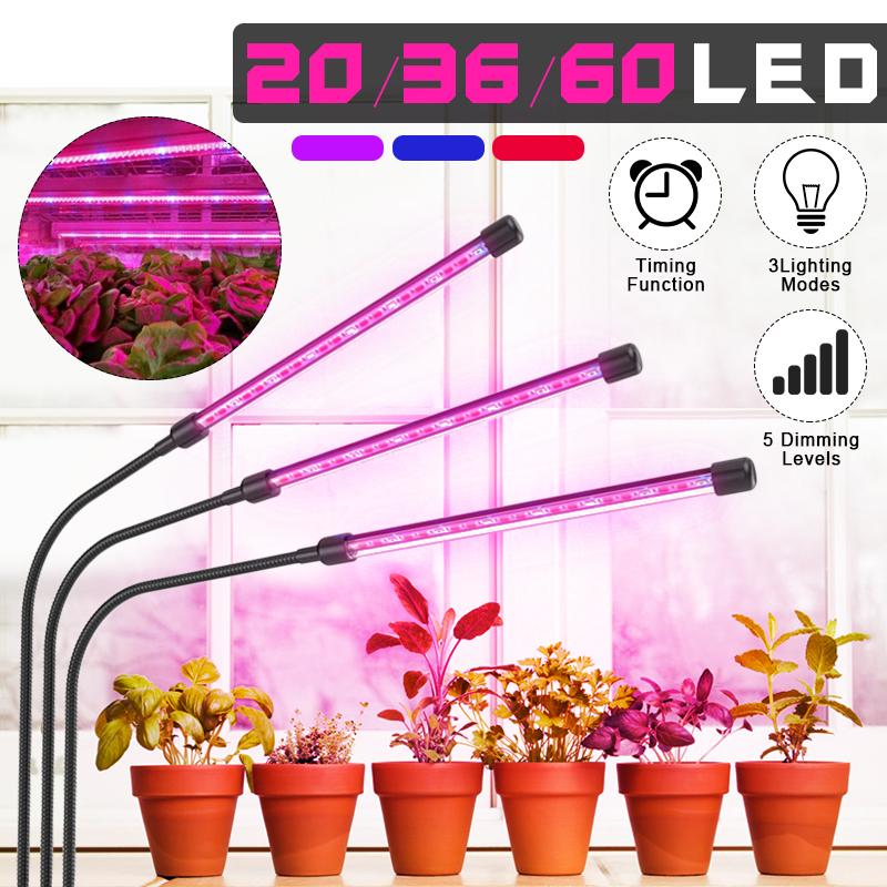 Led Plant Grow Lights Dual Lamp 18w Greenhouse Gooseneck Led Grow Light Usb For Indoor Outdoor Plants Hydroponic Garden Greenhouses Walmart Com Walmart Com