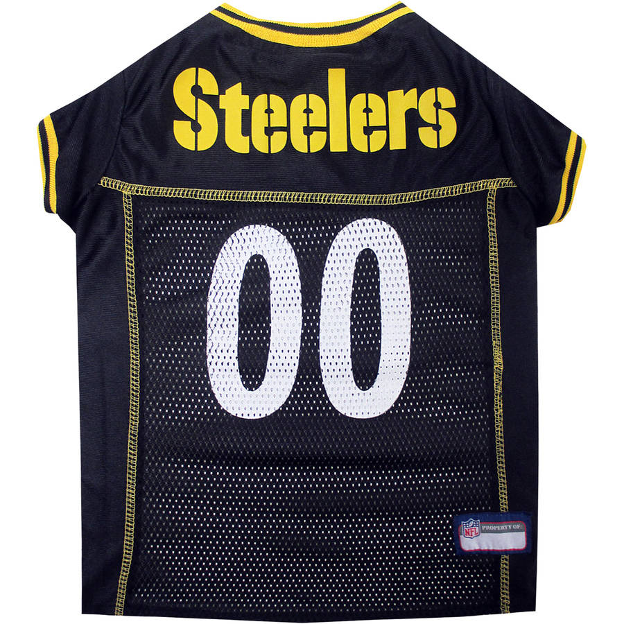 Pets First NFL Pittsburgh Steelers Pet Jersey