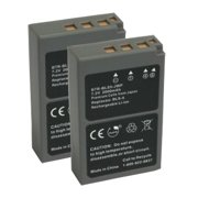 2 Pack Battery for Olympus BLS5 Replacement Battery