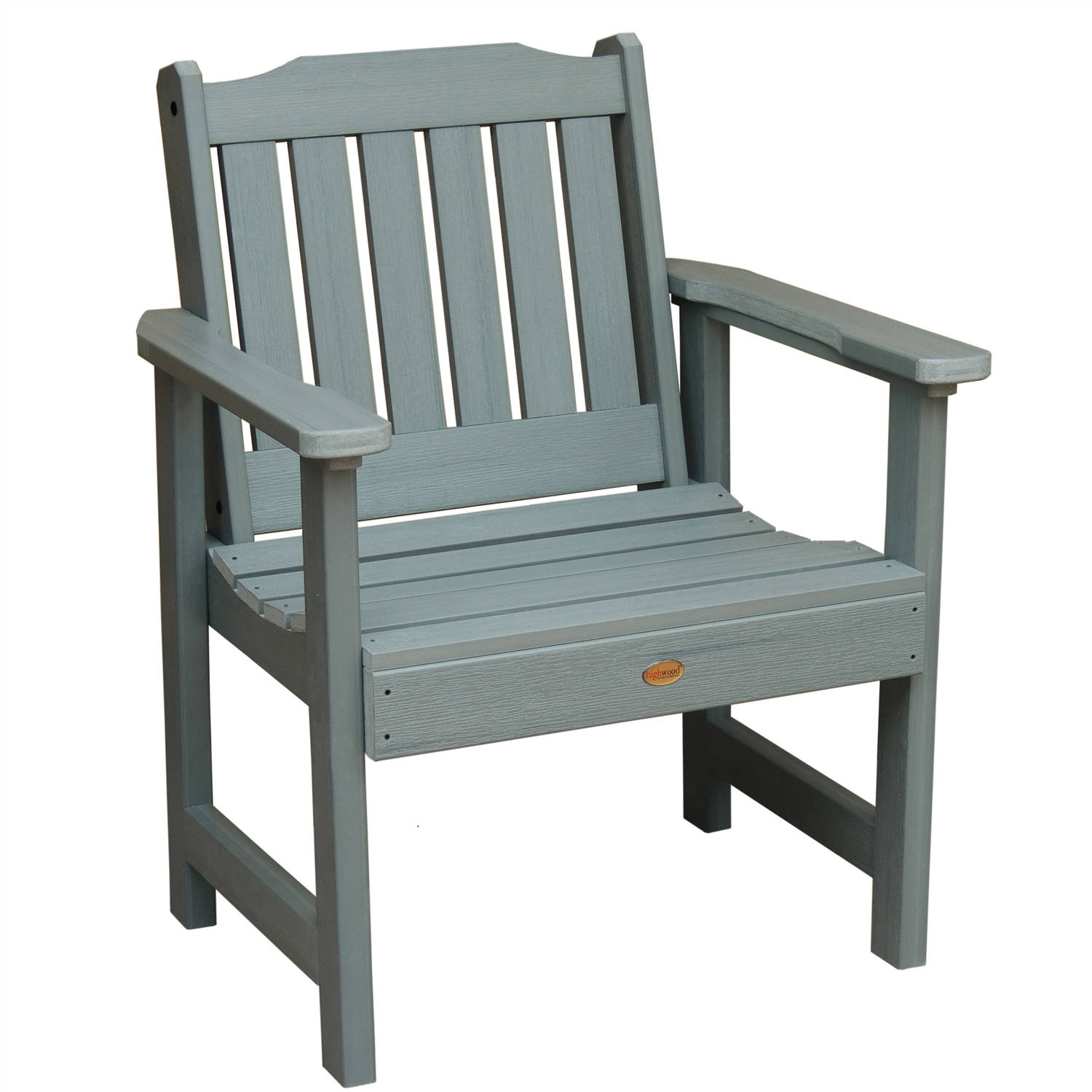 highwood® Eco-Friendly Recycled Plastic Lehigh Garden Chair