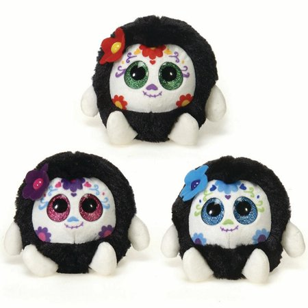 Fiesta Lubby Cubbies Cute Sugar Skull 3.5
