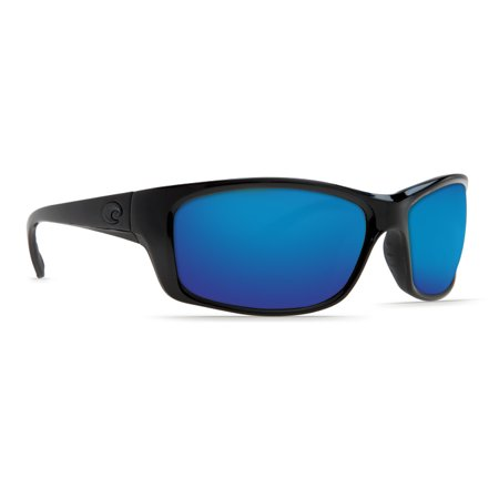 Costa Del Mar Jose Blackout Rectangular (Ray Ban Green Frames)