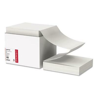 Computer Paper, 18lb, 9-1/2 x 11, Letter Trim Perforations, White, 2300 Sheets (Letter Trim Perforations)
