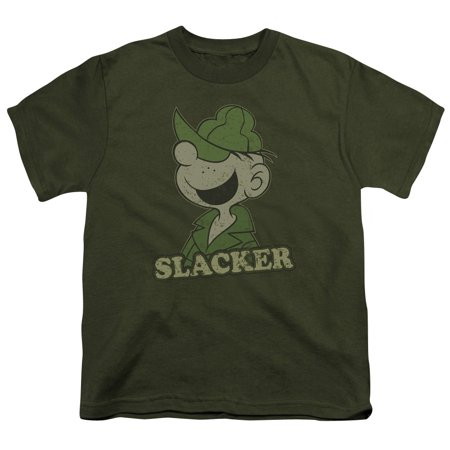 Beetle Bailey - Slacker - Youth Short Sleeve Shirt - Medium