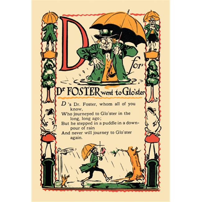 Buy Enlarge 0-587-07424-8P20x30 D for Dr.  Foster Went to Gloster- Paper Size P20x30