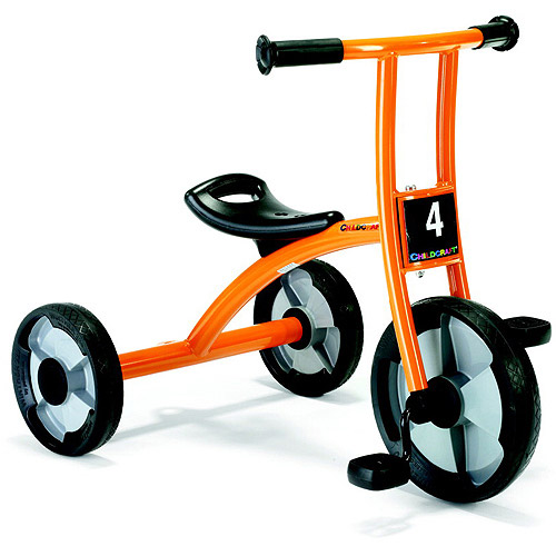 "Childcraft Tricycle, 12"", Orange and Black"
