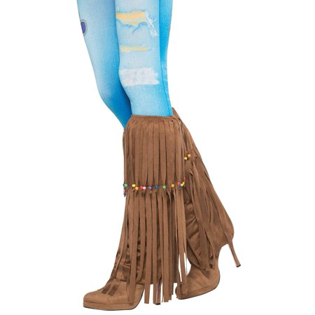 leg warmers 60's hippie beaded (Hippie Beads)