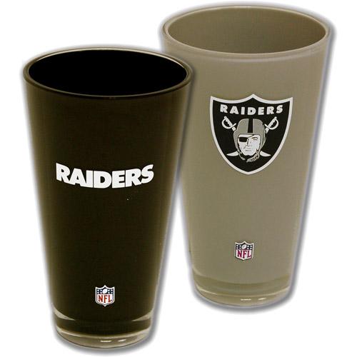 NFL 2pc Home and Away Tumbler Box Set, Oakland Raiders