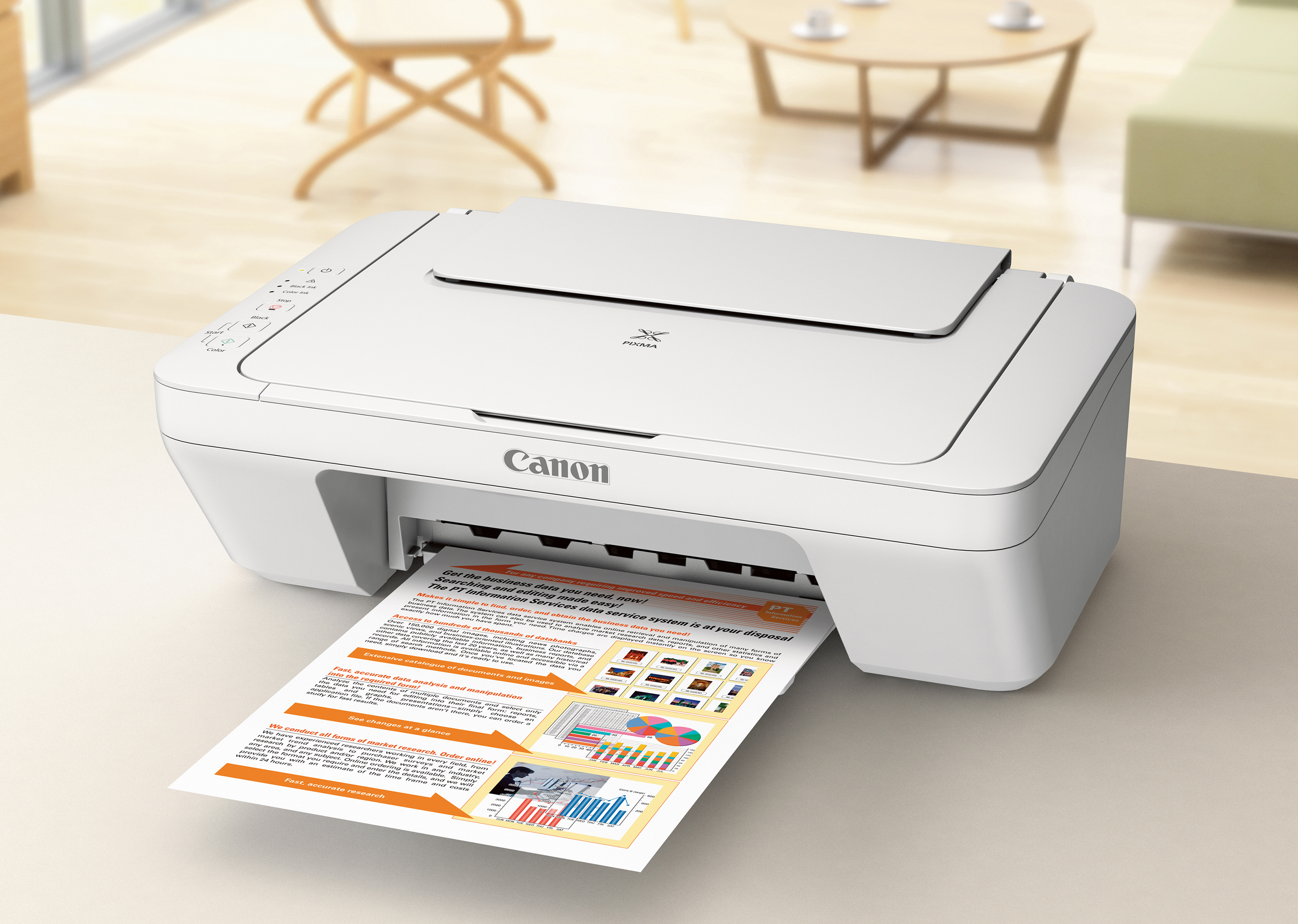 Canon PIXMA MG20 Wired All in One Color Inkjet Printer