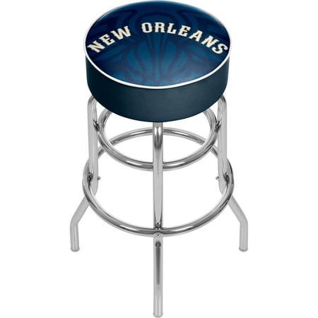 Detroit Pistons Nba Bar Stool - NBA Padded Swivel Bar Stool - Fade - New Orleans Pelicans