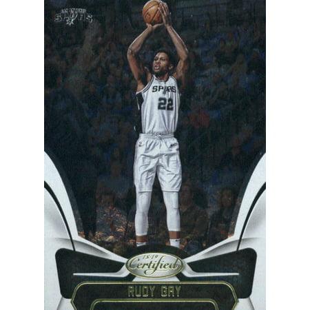 2018-19 Panini Certified #118 Rudy Gay San Antonio Spurs Basketball Card](Adult Arcade San Antonio)