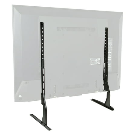 Mount Factory Modern Tabletop TV Stand - Universal Flat Screen Base Replacement for 24