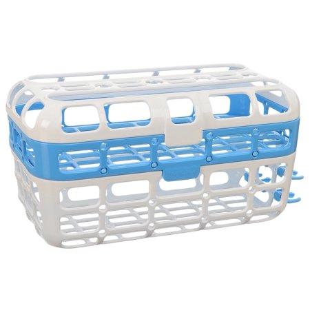 High Capacity Dishwasher Basket Blue By Munchkin