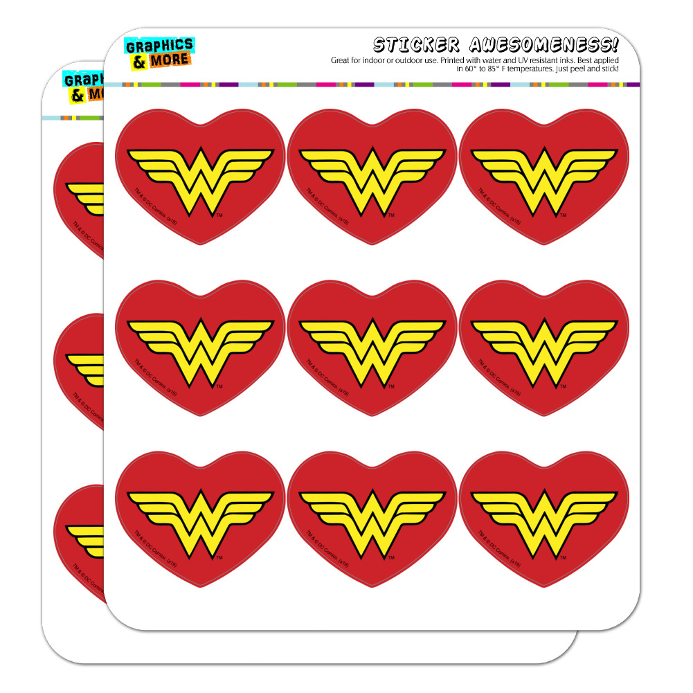 """I Love You More Red Heart 1/"""" Scrapbooking Crafting Stickers"""