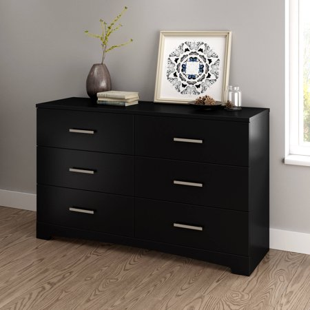 2 Piece Bedroom Dresser (South Shore Gramercy 6-Drawer Double Dresser, Multiple)