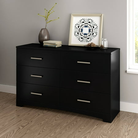 South Shore Gramercy 6 Drawer Double Dresser Multiple Finishes