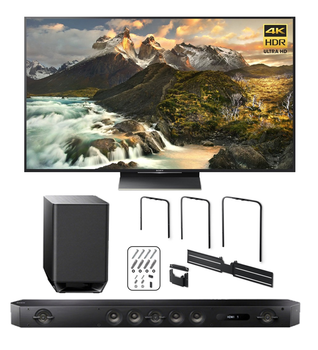 "Sony Z9D 65"" 4K HDR Ultra-High Definition Android TV + HT..."
