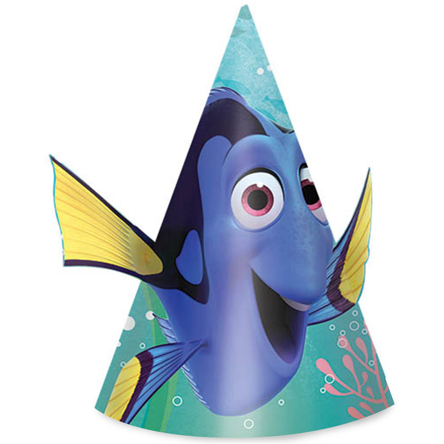 Disney Finding Dory Cone Hats, 8ct