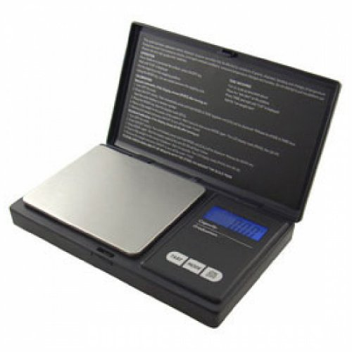 Aws Aws-600 Digital Pocket Scale - 1.32 Lb / 600 G Maximum Weight Capacity - Stainless Steel - Black (aws-600-blk)